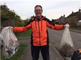 New Volunteer litter picker, starts with a surprising amount of rubbish