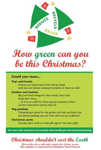 Reuse - Have a Green Christmas in Collingham